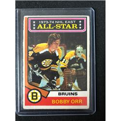 1974-75 O-Pee-Chee #130 Bobby Orr All Star