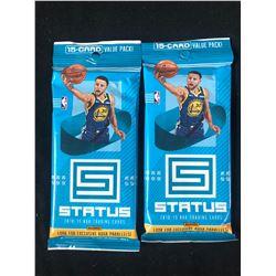 2018-19 PANINI STATUS NBA TRADING CARDS PACKS LOT