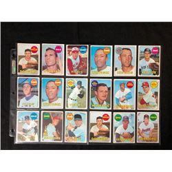 1960'S BASEBALL CARD LOT
