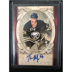 2010-11 UPPER DECK ARTIFACTS TYLER MYERS AUTOGRAPHED HOCKEY CARD