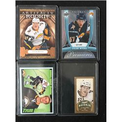 TYLER MYERS HOCKEY CARD LOT (SOME RC)