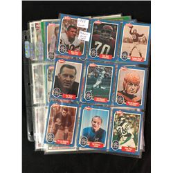 1988 SWELL FOOTBALL CARD LOT (PHILLY GUM CORP.)