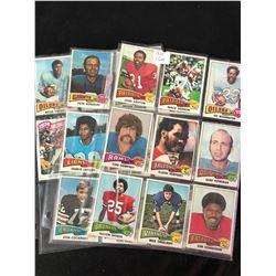 1975 TOPPS FOOTBALL CARD LOT