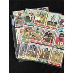 1974 TOPPS FOOTBALL CARD LOT