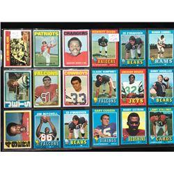 1971 TOPPS FOOTBALL CARD LOT