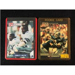 1990'S FOOTBALL CARD LOT (SMITH/ AIKMAN)