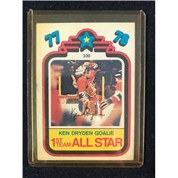 Ken Dryden 1st Team All Star #330 1978-79 O-Pee-Chee Hockey Card