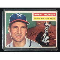 1956 Topps #257 Bobby Thomson