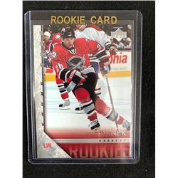 2005-06 UPPER DECK HOCKEY #457 THOMAS VANEK ROOKIE CARD