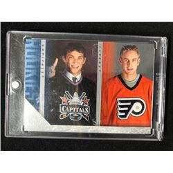 2005 UD SERIES 2 HOCKEY CHECKLIST #487 (OVECHKIN/ CARTER)