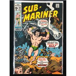 SUB-MARINER #39 (MARVEL COMICS)