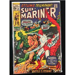 SUB-MARINER #31 (MARVEL COMICS)