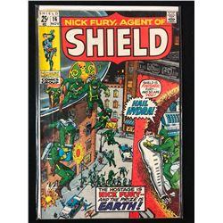NICK FURY AGENT OF SHIELD #16 (MARVEL COMICS)