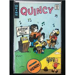 QUINCY #R-05 (KING COMICS) 1973