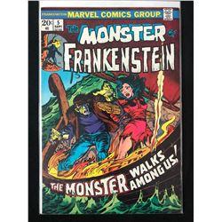THE MONSTER OF FRANKENSTEIN #5 (MARVEL COMICS)