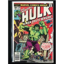 THE INCREDIBLE HULK #206 (MARVEL COMICS)