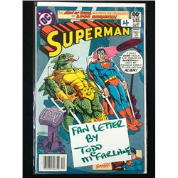 SUPERMAN #366 (DC COMICS)