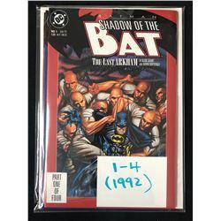 SHADOW OF THE BAT #1-4 (DC COMICS) 1992