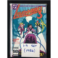 LEGIONNAIRES 3 #1-4 (DC COMICS) 1986