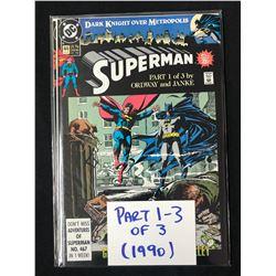 SUPERMAN #1 (DC COMICS) 1990
