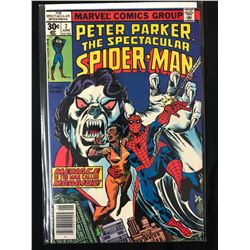PETER PARKER THE SPECTACULAR SPIDER MAN NO. 7