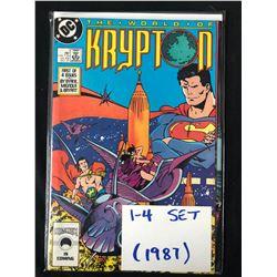 1987 KRYPTON ( SET 1-4)