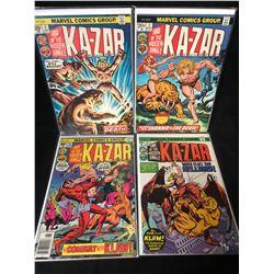 KA-ZAR COMIC BOOK LOT (MARVEL COMICS)