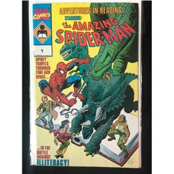ADVENTURES IN READING STARRING THE AMAZING SPIDER-MAN #1 (MARVEL COMICS)
