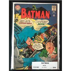 1968 BATMAN NO. 199