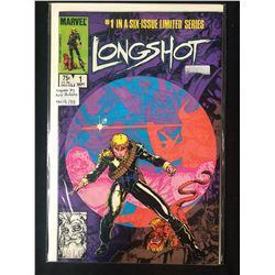 LONGSHOT NO.1 COMIC BOOK ( SIGNED BY ARTIST ART ADAMS)