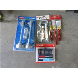 Lot of 4 New Tools