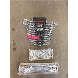 3 Offset Wrench Sets - Standard & Metric