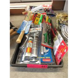 Lot of Assorted New Tools