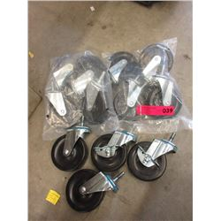 3 Sets of 4 New Casters