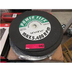 Case of  25 Cutting Wheels - 14 x 1/8 Inches