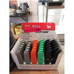 Case of 30 New Utility Knives