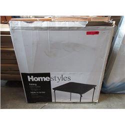 "2 Folding Card Tables - 34 x 34"" - Store Returns"