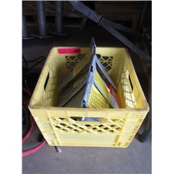 Crate of U Bolts and Brackets