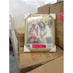 """6 Cases of 12 New 8"""" x 10"""" Oak Picture Frames"""