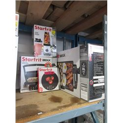 4 Starfrit Small Kitchen Appliances - Store Return