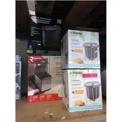 4 Pieces of Household Merchandise