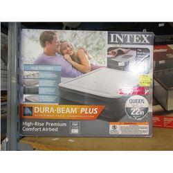 2 Intex Queen Size Inflatable Beds - Store Returns