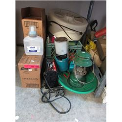 Battery Charger, Camping Lanterns & More