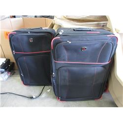 2 Large Pieces of Canada Rolling Luggage