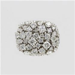 2.33 ctw Diamond Anniversary Ring - 14KT White Gold