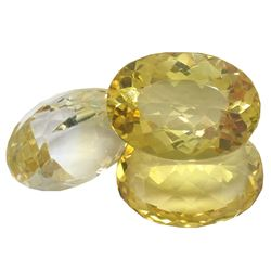 34.04 ctw Oval Mixed Citrine Quartz Parcel