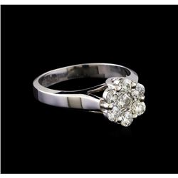 0.75 ctw Diamond Ring - 14KT White Gold