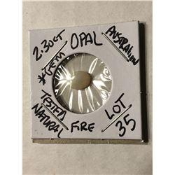 2.30 Carat Australian OPAL FIRE Tested Natural GEM