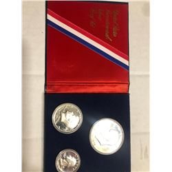 1976 Bicentennial 3 Coin Silver Proof Set in Original Package