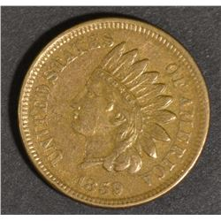 1859 INDIAN CENT, CH AU
